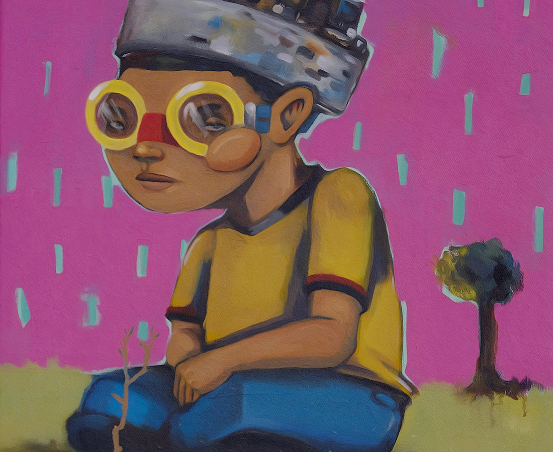 Hebru Brantley Down Played, 2014