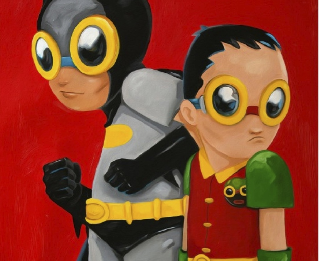 Hebru Brantley  Flynamic Duo, 2014
