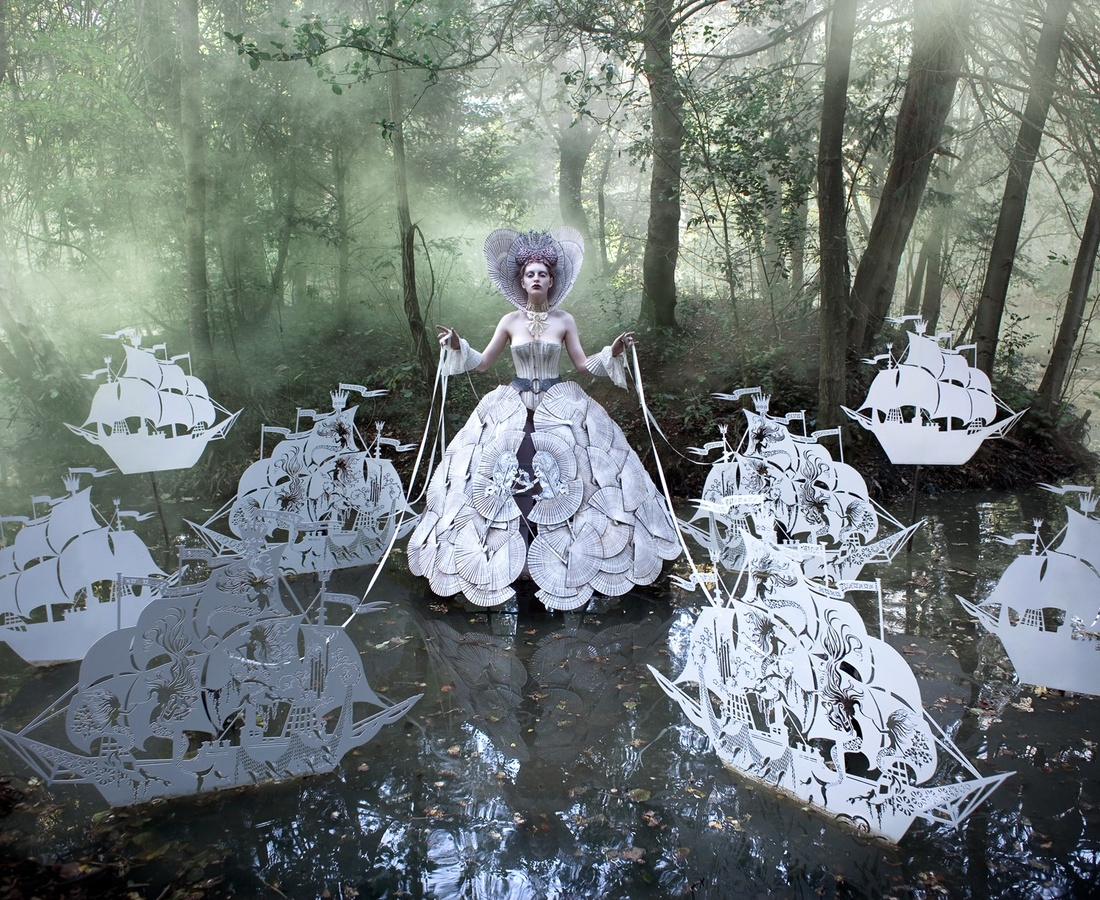 <p><b>Kirsty Mitchell</b><br /><i>The Queen's Armada</i><span>, 2012</span></p>