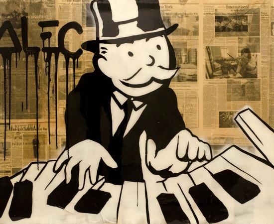 <p><span class=&#34;Apple-style-span&#34; style=&#34;font-family: verdana, arial, helvetica; font-size: 11px; line-height: 14px;&#34;><strong>Alec Monopoly</strong><br /><em>DJ - Then Play On</em>, 2013</span></p>