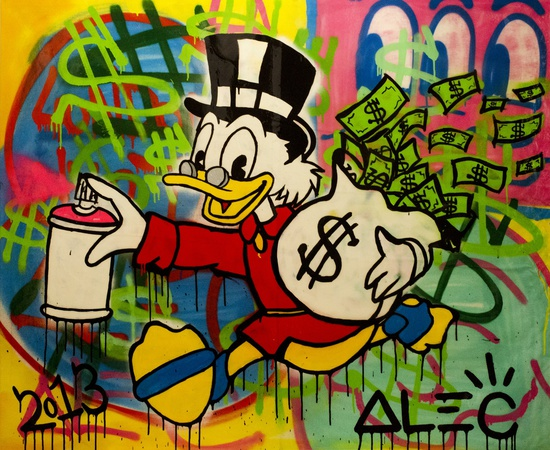 <p><span class=&#34;Apple-style-span&#34; style=&#34;font-family: verdana, arial, helvetica; font-size: 11px; line-height: 14px;&#34;><strong>Alec Monopoly</strong><br /><em>Run Donald Run</em>, 2013</span></p>