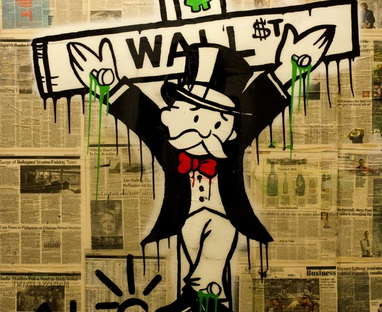 <p><span class=&#34;Apple-style-span&#34; style=&#34;font-family: verdana, arial, helvetica; font-size: 11px; line-height: 14px;&#34;><strong>Alec Monopoly</strong><br /><em>Exile On Wall Street</em>, 2013</span></p>