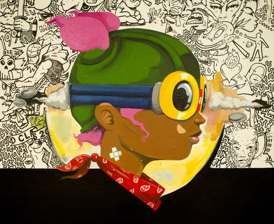<p><b style=&#34;font-family: verdana, arial, helvetica; font-size: 11px; line-height: 14.300000190734863px;&#34;>Hebru Brantley</b><br style=&#34;font-family: verdana, arial, helvetica; font-size: 11px; line-height: 14.300000190734863px;&#34; /><span style=&#34;font-family: verdana, arial, helvetica; font-size: 11px; line-height: 14.300000190734863px;&#34;>Untitled, 2014</span></p>