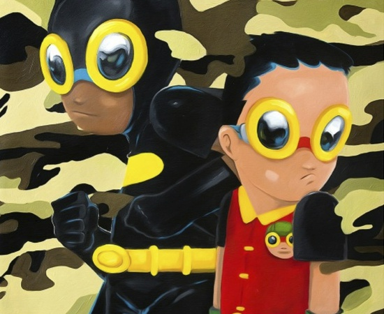<p style=&#34;font: normal normal normal 13px/normal Helvetica; padding: 0px; margin: 0px;&#34;><strong style=&#34;padding: 0px; margin: 0px;&#34;>Hebru Brantley</strong></p> <p style=&#34;font: normal normal normal 13px/normal Helvetica; padding: 0px; margin: 0px;&#34;><em style=&#34;padding: 0px; margin: 0px;&#34;>Behind Us, 2014</em></p>