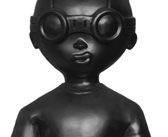 <p style=&#34;font: normal normal normal 13px/normal Helvetica; padding: 0px; margin: 0px;&#34;><strong style=&#34;padding: 0px; margin: 0px;&#34;>Hebru Brantley</strong></p> <p style=&#34;font: normal normal normal 13px/normal Helvetica; padding: 0px; margin: 0px;&#34;><em style=&#34;padding: 0px; margin: 0px;&#34;>Fly Boy Bust (Black), 2014</em></p>