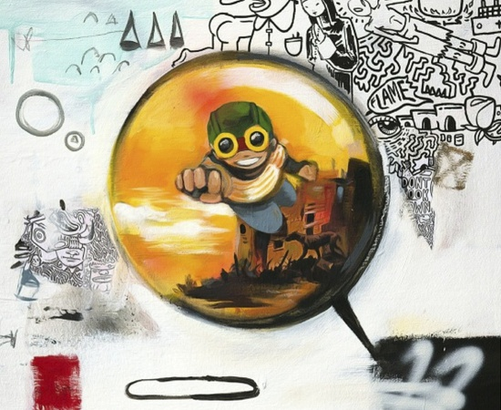 <p style=&#34;font: normal normal normal 13px/normal Helvetica; padding: 0px; margin: 0px;&#34;><strong style=&#34;padding: 0px; margin: 0px;&#34;>Hebru Brantley</strong></p> <p style=&#34;font: normal normal normal 13px/normal Helvetica; padding: 0px; margin: 0px;&#34;><em style=&#34;padding: 0px; margin: 0px;&#34;>Midas (Bubble), 2014</em></p>