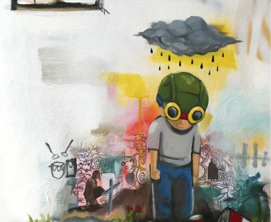 <p style=&#34;font: normal normal normal 13px/normal Helvetica; padding: 0px; margin: 0px;&#34;><strong style=&#34;padding: 0px; margin: 0px;&#34;>Hebru Brantley</strong></p> <p style=&#34;font: normal normal normal 13px/normal Helvetica; padding: 0px; margin: 0px;&#34;><em style=&#34;padding: 0px; margin: 0px;&#34;>Monsoon/Typhoon, 2014</em></p>