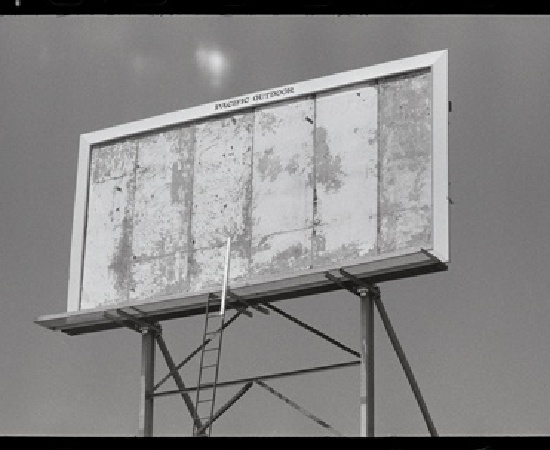 <p><b>Dennis Hopper</b><br /><i>Billboard, Los Angeles</i><span>, 1964</span><br /><br /></p>
