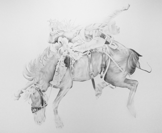 <p><b>Ben Kustow</b><br /><i>Ride A Watersmooth-Silver Stallion</i>, 2014</p>
