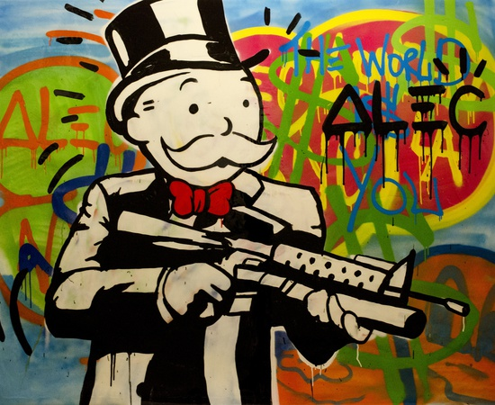 <p><b>Alec Monopoly</b><br /><i>The World Is You</i><span>, 2013</span></p>