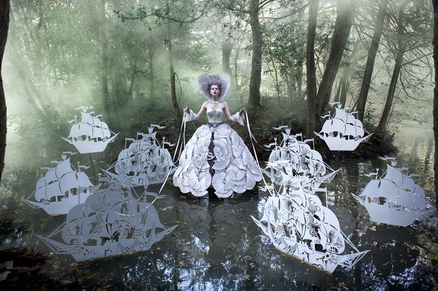 Kirsty Mitchell The Queen's Armada, 2012