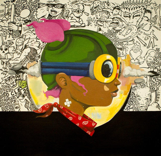 Hebru Brantley, Untitled, 2014